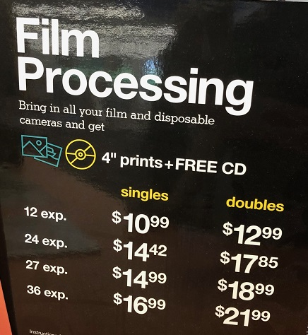 CVS Film Processing