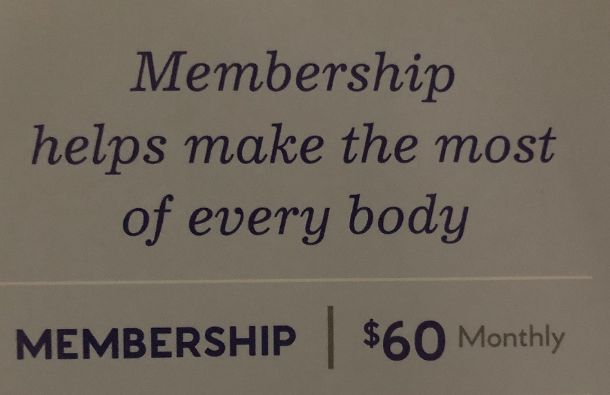 Massage Envy Monthly Membership