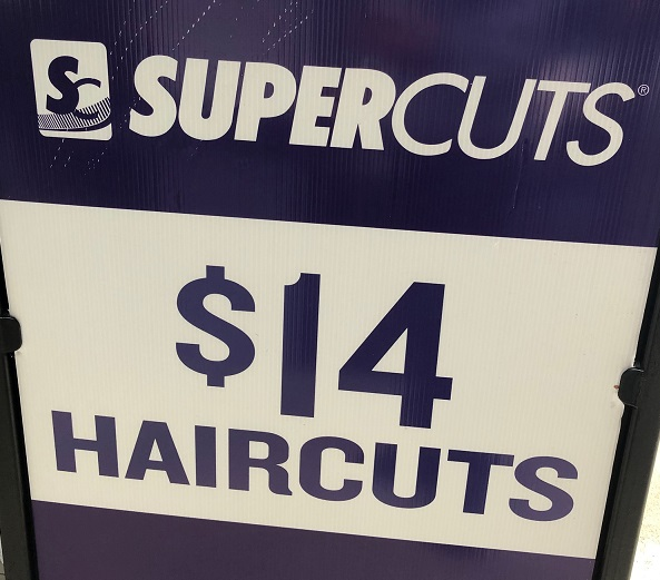 Supercuts Haircut Price