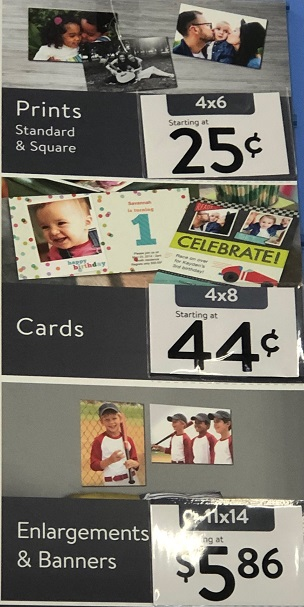 Walmart Photo Prices